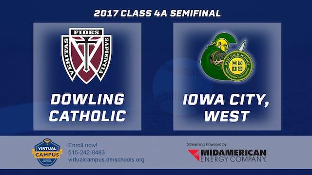 2017 Baseball 4A Semifinal - Dowling ...