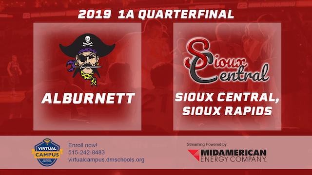 2019 Basketball 1A Quarterfinal - Sio...