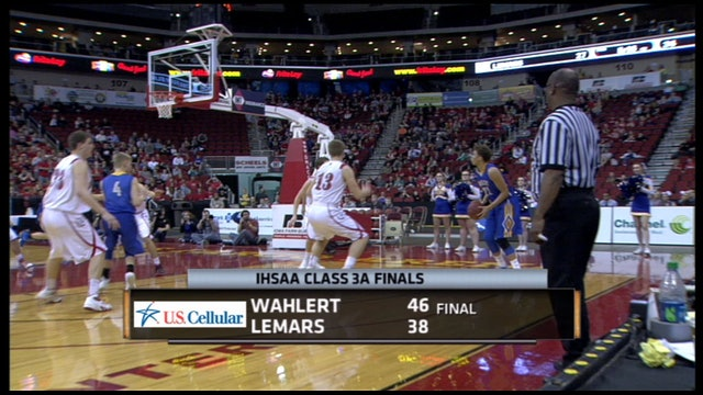 2015 Basketball 3A Final Highlights - Wahlert, Dubuque vs. LeMars