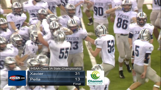 2017 Football 3A Final Highlights - Xavier, Cedar Rapids vs. Pella