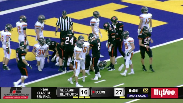 Game Recap - 3A Semifinal Solon vs. Sergeant Bluff-Luton - ft. Max Herz