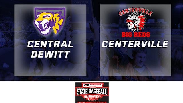 2019 Baseball 3A Quarterfinal - Central DeWitt vs. Centerville