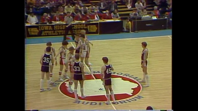 1982 Boys Basketball Class 1A Championship Game Central City vs. Paullina Part 2