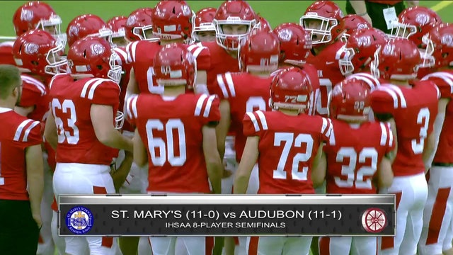 Game Recap - 8P Semifinal Audubon vs. St. Mary's (Remsen) - ft. Max Herz