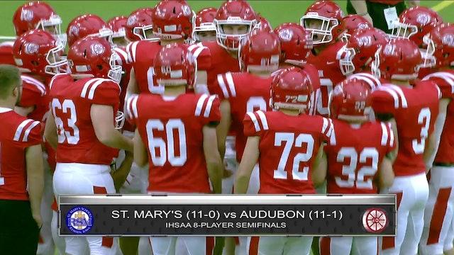Game Recap - 8P Semifinal Audubon vs. St. Mary's (Remsen) - ft. Max Herz