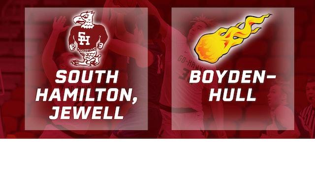 2019 Basketball 2A Semifinal - South Hamilton vs. Boyden-Hull
