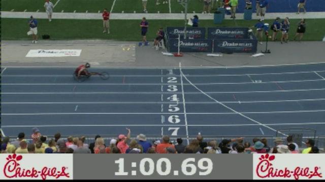 Boys Wheelchair 400 Meter Final