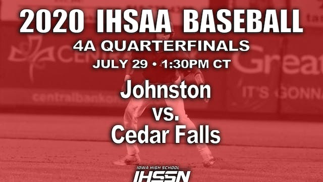 4A QF - JOHNSTON VS. CEDAR FALLS