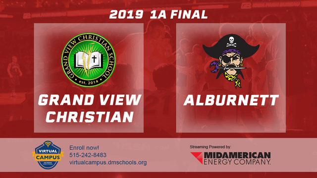 2019 Basketball 1A Final - Grand View...