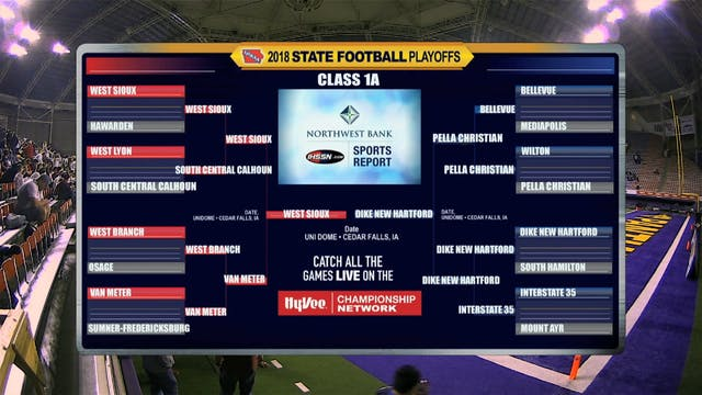2018 Football 1A Semifinal Game Recap...