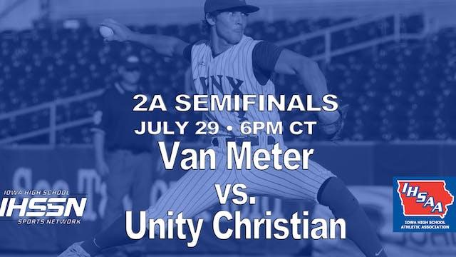 2021 2A Baseball Semi Finals: Van Met...