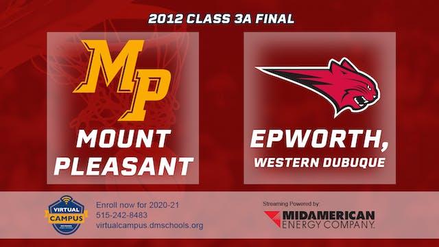 2012 Basketball 3A Championship - Mou...