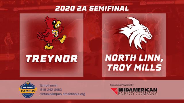 2020 Basketball 2A Semifinal - Treyno...