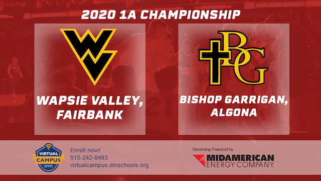 2020 Basketball 1A Championship Highlights (Wapsie Valley | Bishop Garrigan)