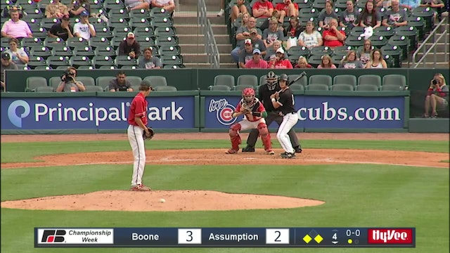 2019 Baseball Highlights - 3A QF Assumption, Davenport vs. Boone