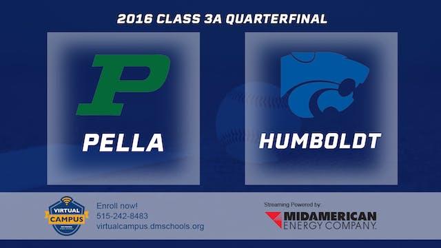 2016 Baseball 3A Quarterfinal - Pella...