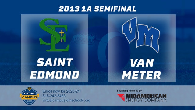 2013 Football 1A Semifinal - St. Edmond, Fort Dodge vs. Van Meter