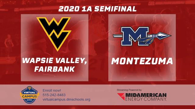 2020 Basketball 1A Semifinal - Wapsie...