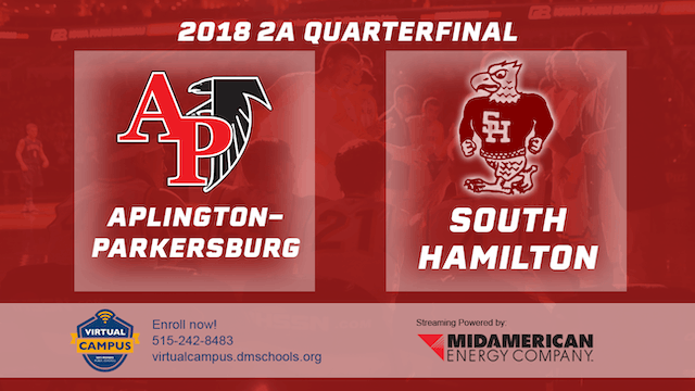 2018 Basketball 2A Quarterfinal (Apli...