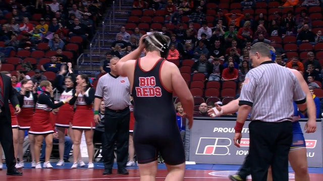 2019 Wrestling 1A 285 - Arron Olson