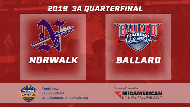 2019 Basketball 3A Quarterfinal - Nor...