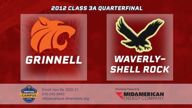2012 Basketball 3A Quarterfinal - Gri...