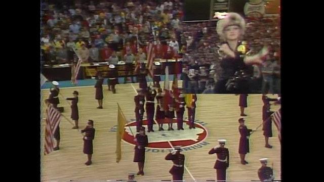 1982 Boys Basketball Class 3A Championship SC North vs Davenport Assumption Pt 1