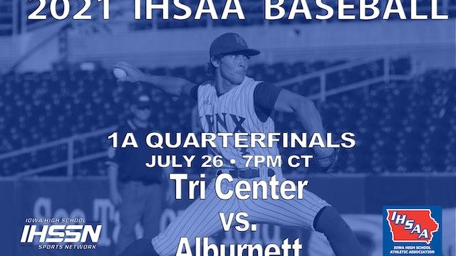 2021 1A Quarterfinals - Alburnett vs. Tri Center