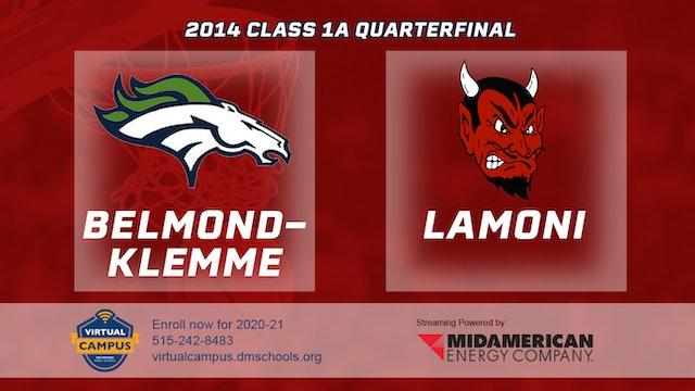 2014 Basketball 1A Quarterfinal - Belmond-Klemme vs. Lamoni