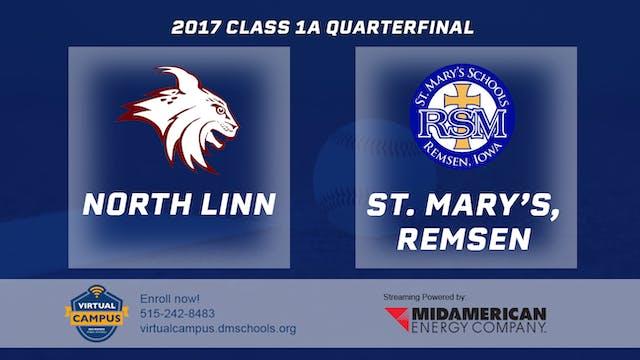 2017 Baseball 1A Quarterfinal - North...