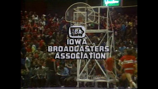 1980 Boys Basketball 3A Semi Waterloo...