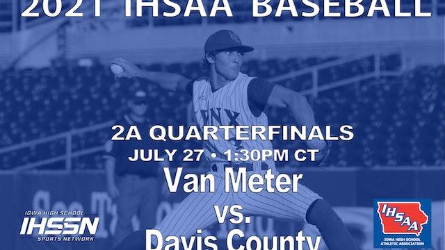 2021 2A Quarterfinals - Davis County vs. Van. Meter