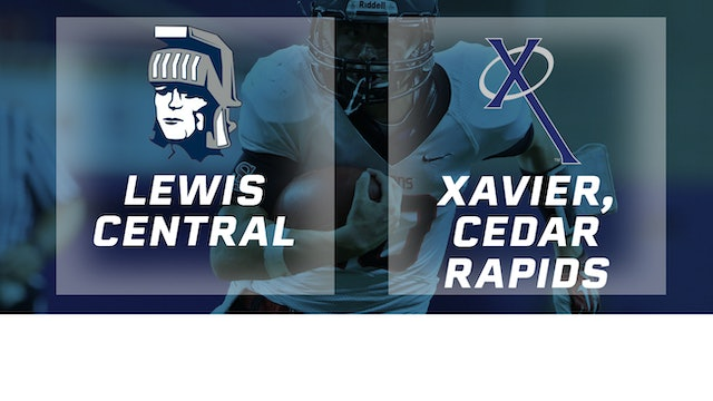 2018 Football 3A Semifinal - Lewis Central vs. Xavier, Cedar Rapids