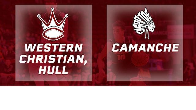2017 Basketball 2A Semifinal (Western Christian, Hull vs. Camanche)