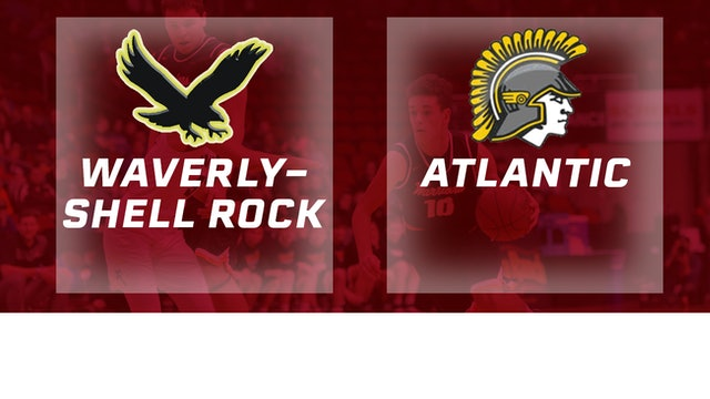 2017 Basketball 3A Quarterfinal (Waverly-Shell Rock vs. Atlantic)