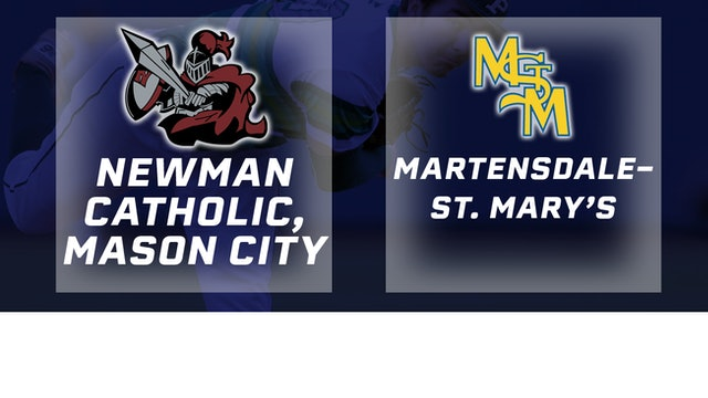 2018 Baseball 1A Semifinal - Newman Catholic vs. Martensdale-St Mary's