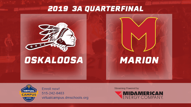2019 Basketball 3A Quarterfinal - Osk...