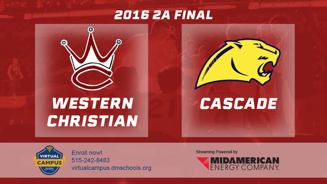 2016 Basketball 2A Final Western Christian, Hull vs. Cascade