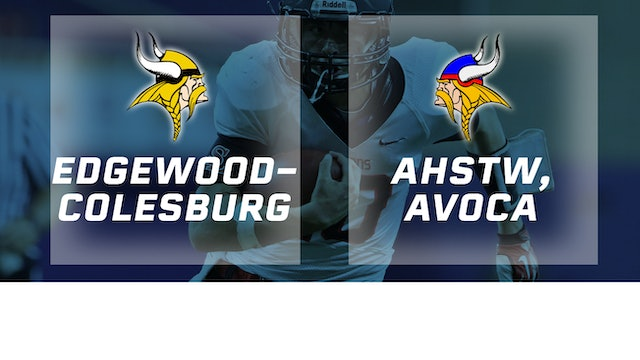2018 Football Class A Semifinal - Edgewood-Colesburg vs. AHSTW, Avoca