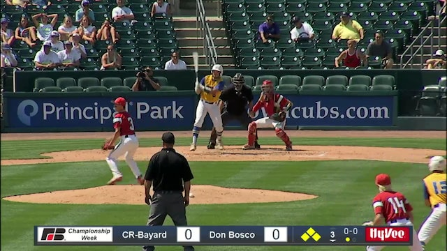 2019 Baseball Highlights - 1A QF Don Bosco vs. Coon Rapids-Bayard