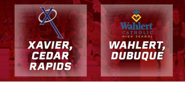 2016 Basketball 3A Final Xavier, Cedar Rapids vs. Wahlert, Dubuque