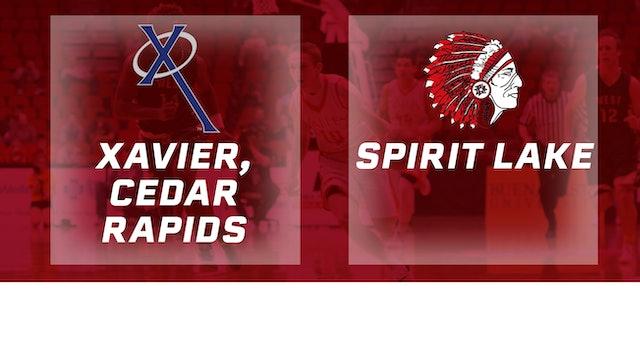 2016 Basketball 3A Quarterfinal Xavier, Cedar Rapids vs. Spirit Lake