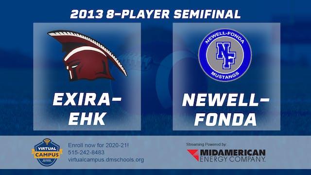 2013 8 Player Football Semi Finals: E...