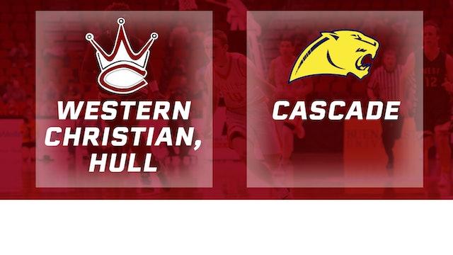 2016 Basketball 2A Final Western Christian, Hull vs. Cascade