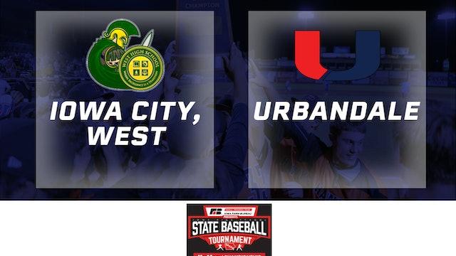 2019 Baseball 4A Semifinal - Iowa City, West vs. Urbandale