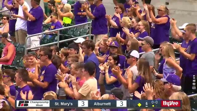 2019 Baseball Highlights - 1A SF Alburnett vs. St. Mary's Remsen