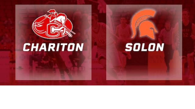 2016 Basketball 3A Quarterfinal Chariton vs. Solon