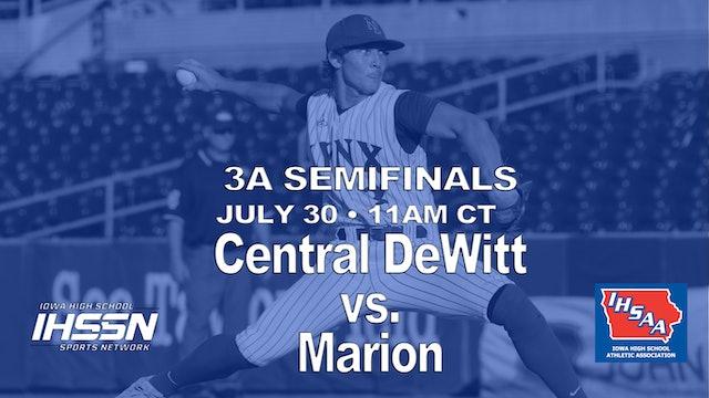 2021 3A SemiFinals - Central DeWitt vs. Marion