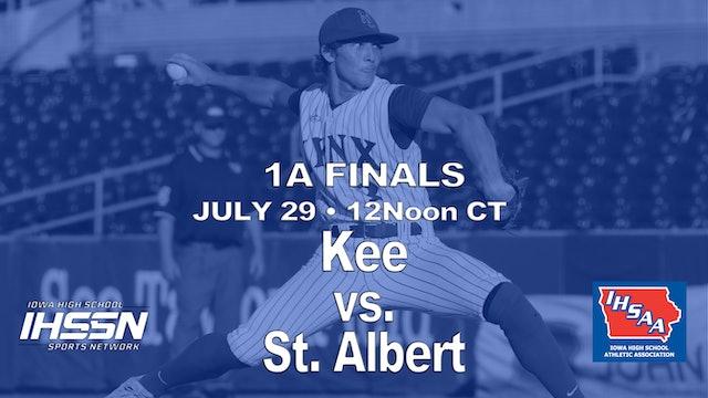 2021 1A Finals - Kee vs. St Albert
