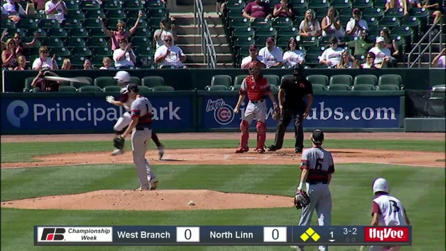 2019 Baseball Highlights 2A Quarterfinal - North Linn vs. West Branch